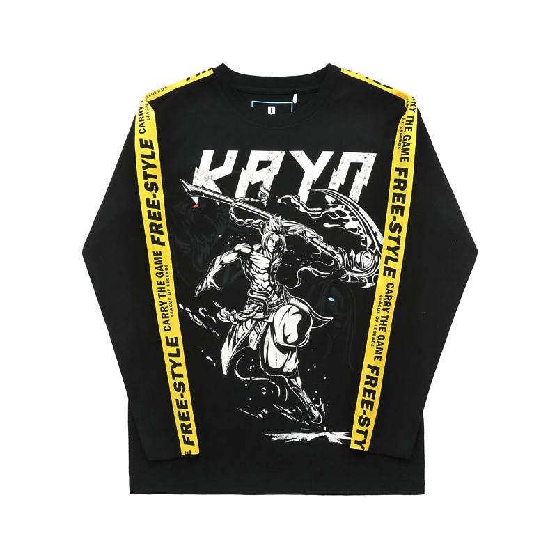 Limited Edition LOL Shieda Kayn T-shirt League Legends Long Sleeve Tees