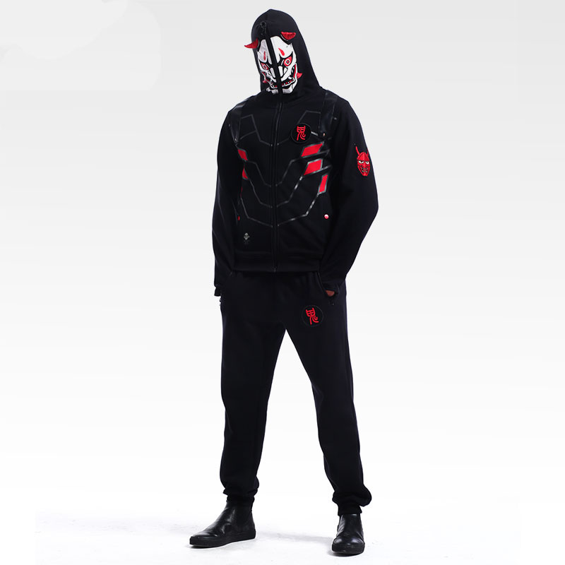 Blazzard Overwatch Gengi Cosplay Hoodie Over Watch Hero Sweatshirt