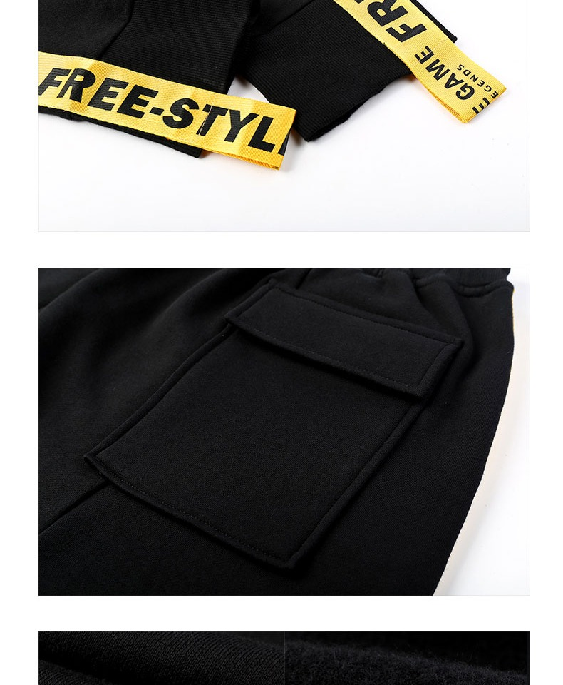 Cool League of Legends Sweatpants Black LOL Game Cotton  Pants