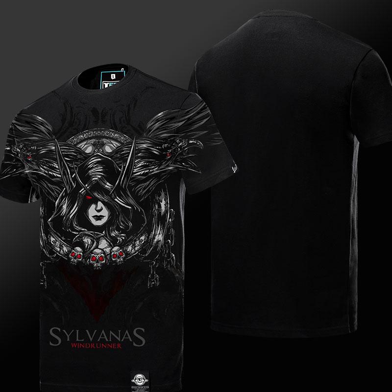 WOW World of Warcraft Sylvanas Windrunner Tshirt