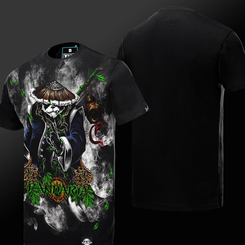 World of Warcraft WOW Mists of Pandaria T-shirt Limited Edition