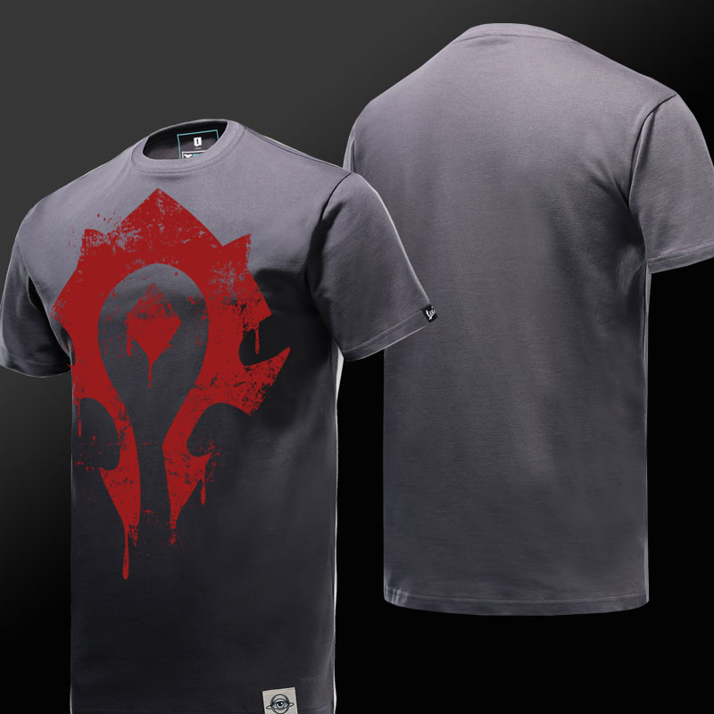 high quality World of Warcraft Horde Logo T-shirt for Men Women