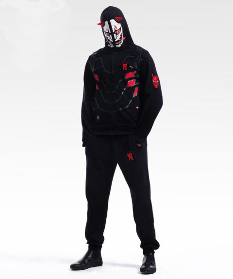 Blizzard Overwatch Gengi Cosplay Hoodie Over Watch Hero Sweatshirt