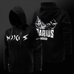 Cool LOL Darius Hoodie League of Legends S7 Zipper Sweatshirt