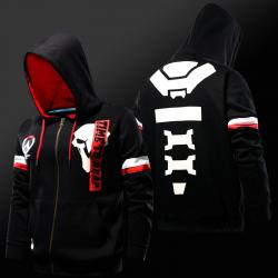 Blizzard Overwatch Reaper Hoodie OW Hero Cosplay Sweatshirt