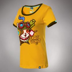 Lovely League of Legends LOL Teemo T-shirt Swift Scout Hero Tee For Girls