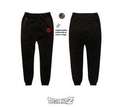Δράκος Μπάλα Γιος Goku λογότυπο sweatpants DBZ Master Roshi αντικαταστάσιμη Velcro λογότυπο μαύρο παντελόνι