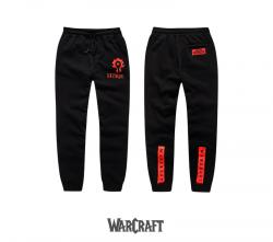 Blizzard World of Warcraft Horde Sweatpants WOW Game Pants