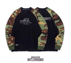 Playerunknown'S Battlegrounds Hoodie PUBG Black+ Army Green Sweatshirt