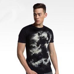 Ink Print LOL Lee Sin T-shirt League of Legend Blind Monk Tee Shirt