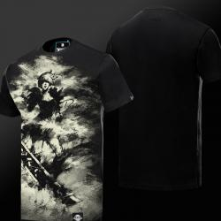 Ink Print LOL Riven T-shirt League of Legend Exile Hero Tee Shirt