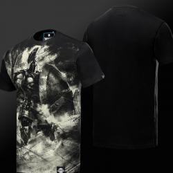 Ink Print LOL Pantheon T-shirt League of Legend Artisan of War Hero Tee Shirt