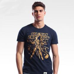 Unique Saint Seiya Galaxian Explosion T-shirts Blue