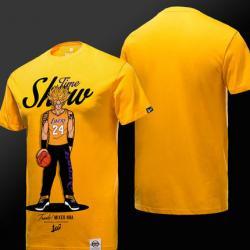 Drag Ball Trunks Tshirt Yellow Short Sleeve Tee