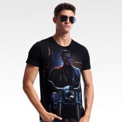 Judgment Day Terminator Black T-shirt
