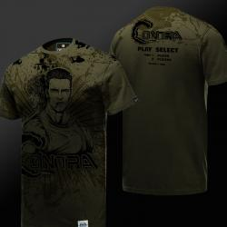 Quality Contra T-shirt Army Green Men Tee