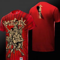 Quality Slam Dunk Tshirt Red Plus Size Tee Shirts