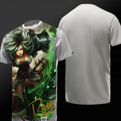 League of Legends LOL Riven T-shirt Exile Hero Tee Shirt
