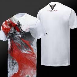 Ink Print Guild Wars 2 Human T-shirt