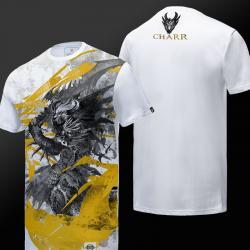 Чернил печать Guild Wars 2 Чарр футболку