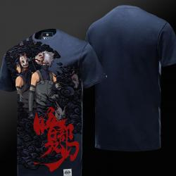 Limited Edition Naruto blauw T-shirt