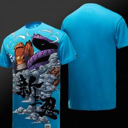 High Quality Naruto Blue T-shirt