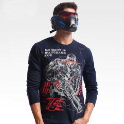 Overwatch Soldier 76 Tshirts Mens Blue Shirt