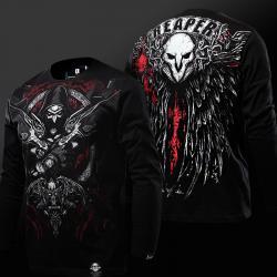 Overwatch Reaper Shirts Men Black T shirt