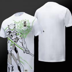 Quality Overwatch Gengi T-shirts For Young White Tees