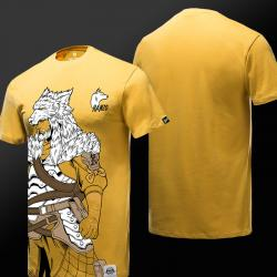 Limited Edition Overwatch Hanzo Tees Mens Yellow T-shirt