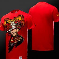 DOTA 2 Juggernaut Tshirt Defense of the ancients Red Tee